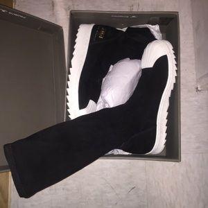 Rick Owens Shoes - Rick Owen Adidas sock sneaker