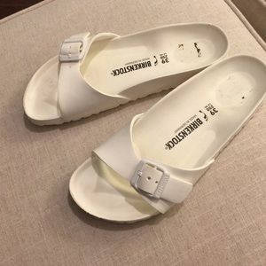 Birkenstock Shoes | White Foam S | Poshmark