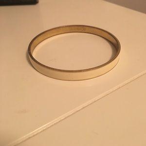 J. Crew White Enamel Bracelet