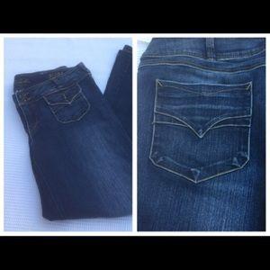 Silver Jeans Denim - Silver Jeans Starr Wide Leg Flare 33/33