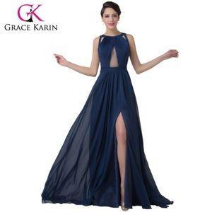 Dresses & Skirts - Grace Karin size 3 navy prom dress