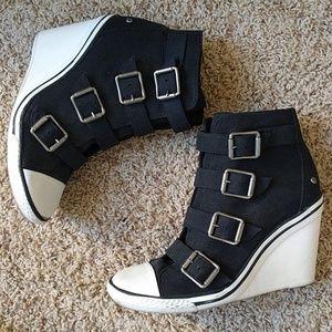 Vera Wang Sneaker Wedges
