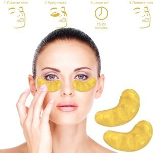 Other - 5pcs Crystal Collagen Gold Anti Aging Eye Mask