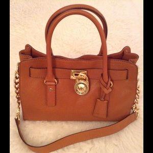 4e9fd206df45 Michael Kors Bags - 💯Authentic MK Hamilton EW Satchel 🍁🍂SALE🍂🍁
