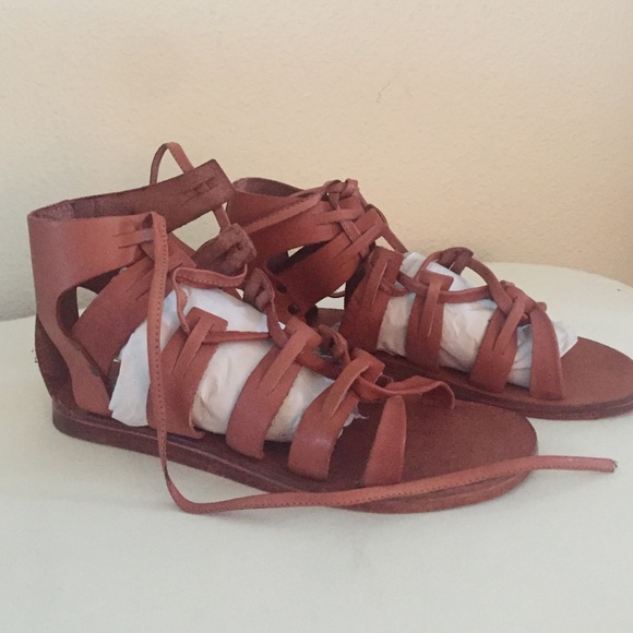 888111061a5e DSW Cognac Gladiator Sandal