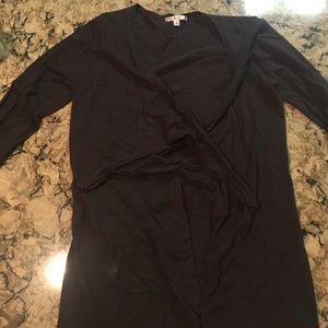 Charcoal CAbi Cardigan, size large