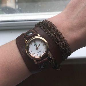 La Mer Accessories - ▫️LA MER▫️ Leather Wrap Watch
