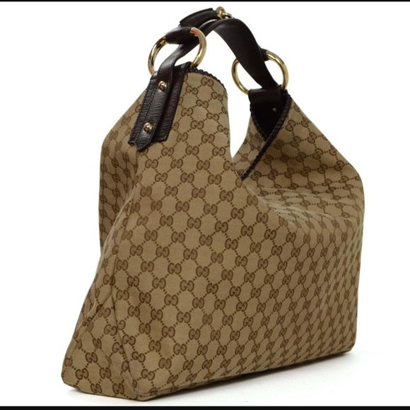 2f9f8050d0ff9 Gucci horse bit bag large