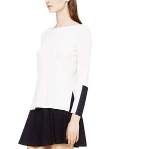 Club Monaco Sweaters - Club Monaco S/P sweater with faux leather accent