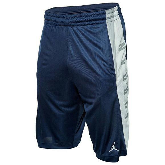 Nike Jordan Men's Basketball Shorts Small, Navy Boutique