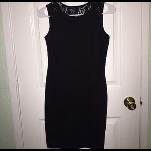H&M mini black dress