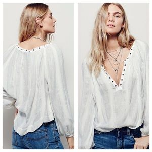 Free People Tops - Free People against all odds top