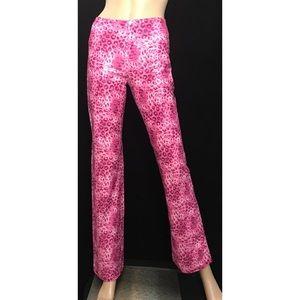 """Vertigo Paris Pants - Vertigo Paris • Pink Cheetah Pants • Sz 4x32.5"""""""