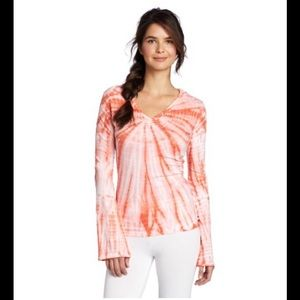 Prana Tops - Prana Tie Dye Yoga Hoodie