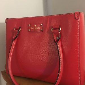 Red Kate Spade Wellesley Quinn bag