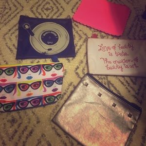 Collection of Makeup Pouches