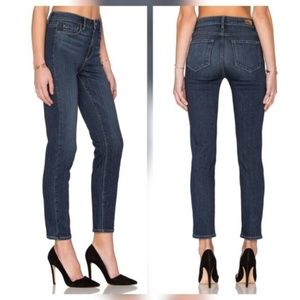 Paige Jeans Denim - Paige Hoxton Crop Rollup High Rise Skinny Jeans