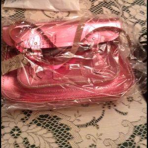 Cambridge Satchel Handbags - Cambridge Satchel NTW w bag metallic pink purse