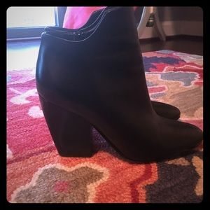 M. Gemi Shoes - M. Gemi black leather booties