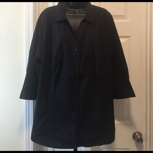 Lane Bryant plus size black shirt
