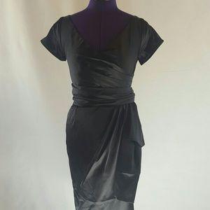 Pinup Girl Clothing Black Ava Dress