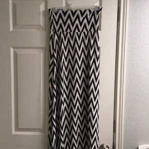 Dresses & Skirts - Chevron Maxi Skirt