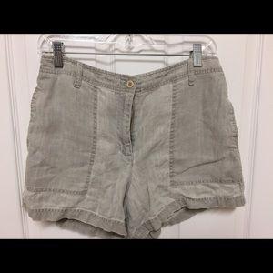 Loft Fashion Pants - Linen Ladies shorts