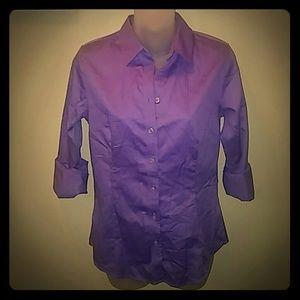 Purple Banana Republic Shirt