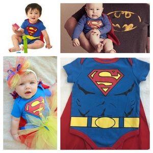Superman Onesie with Cape