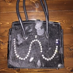 Beautiful b.b. Simon purse black cowhide