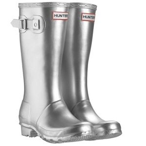 Hunter Other - Kids Silver Hunter Boots