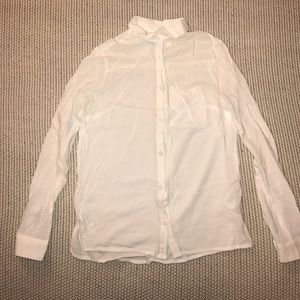 H&M White Button Down Shirt 2