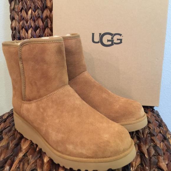 1557ad94012 Sale ❤ UGG Kristin Chestnut Boots NWT
