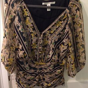 Vintage DVF blouse