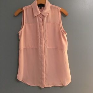 Cynthia Rowley Tops - Light Pink Tank | Small