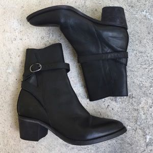 All Saints Leather Boots