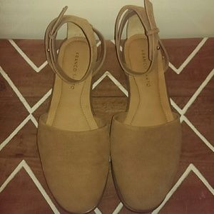 Franco Sarto Leather Flats