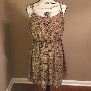 Leopard forever 21 dress