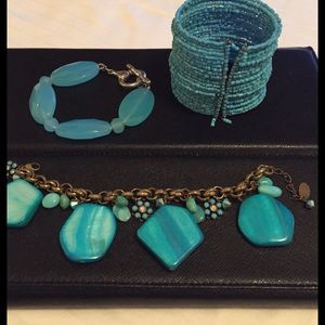 Lord & Taylor Jewelry - Turquoise Trio Bracelet Bundle | get all 3