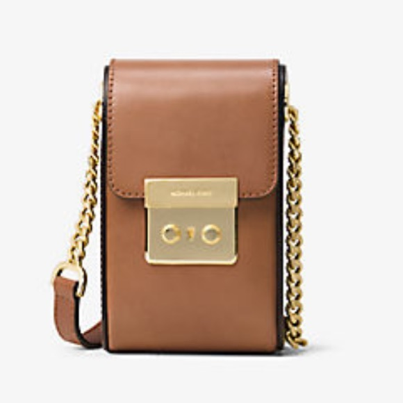 459ad185f14c MMK Michael Kors SCOUT leather cross body brown. M 5896aced4225be706b0343ee