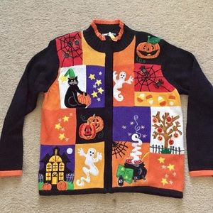 Tiara Sweaters - Tiara Halloween Sweater