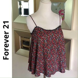 Forever 21 Tops - FOREVER 21 flowy floral print top