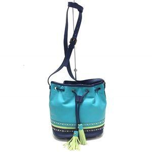 ISABELLA FIORE Drawstring Bucket Bag