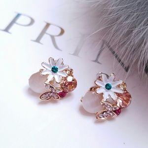 Jewelry - Swarovski Elements Crystal Garden Earrings