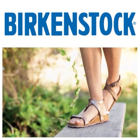 575801c1a10 Birkenstock Shoes - NEW Birkenstock Daloa ankle-strap sandal baby blue
