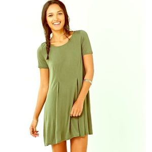 Urban Outfitters Green Swing Dress