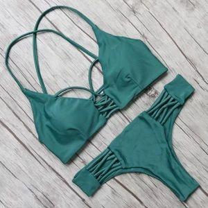 triangl swimwear Other - sexy brazilian thong bikini cheeky cage strappy