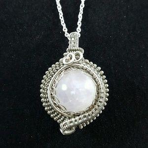 DGwiring Jewelry - ROSE QUARTZ love, reduce stress, dispel negativity