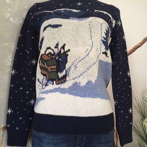 Jack Wills Sweaters - JACK WILLS KETTERING CREW NAVY WINTER JUMPER
