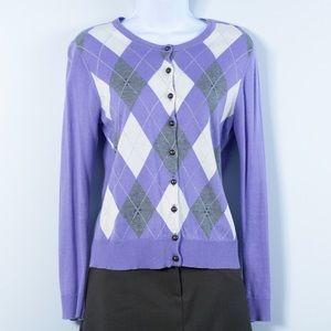 Charter Club Sweaters - Charter Club Argyle Cardigan